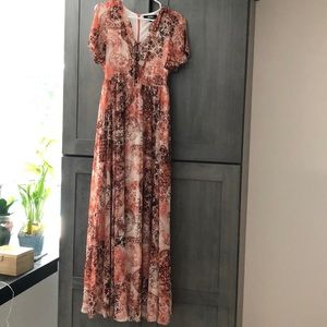 Maxi dress. Only worn once
